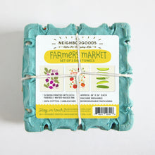 Farmers Market - Dish Towel Set of 3