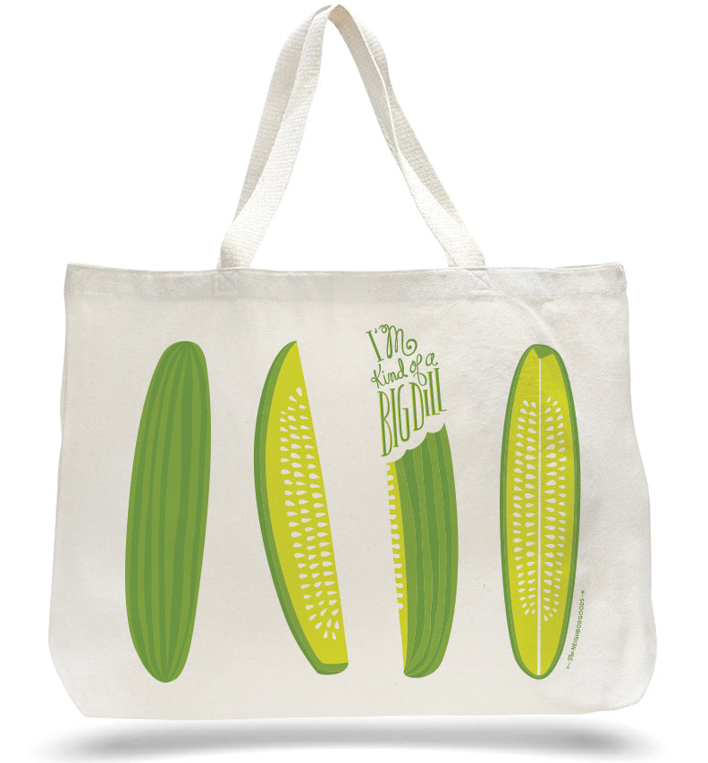 Big Dill Pickle Tote Bag_SECONDS