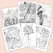 Victory Garden Coloring Pages (Benefiting N Street Village)