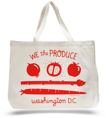 We the Produce DC Flag Tote Bag