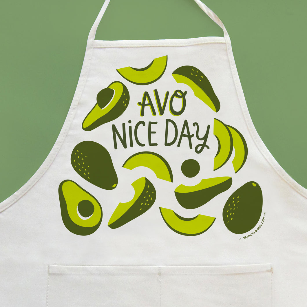 Avo Nice Day Apron_SECONDS