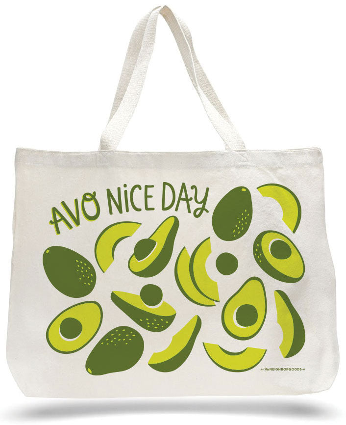 Avo Nice Day Tote Bag
