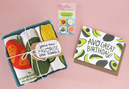 Avocado Toast Birthday Gift Bundle