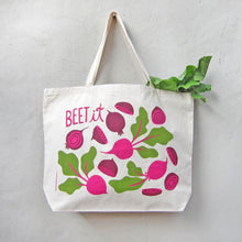 Beet It Tote Bag