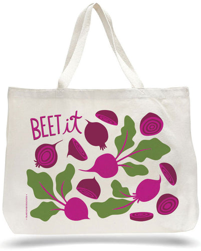 *BACKORDERED* Beet It Tote Bag