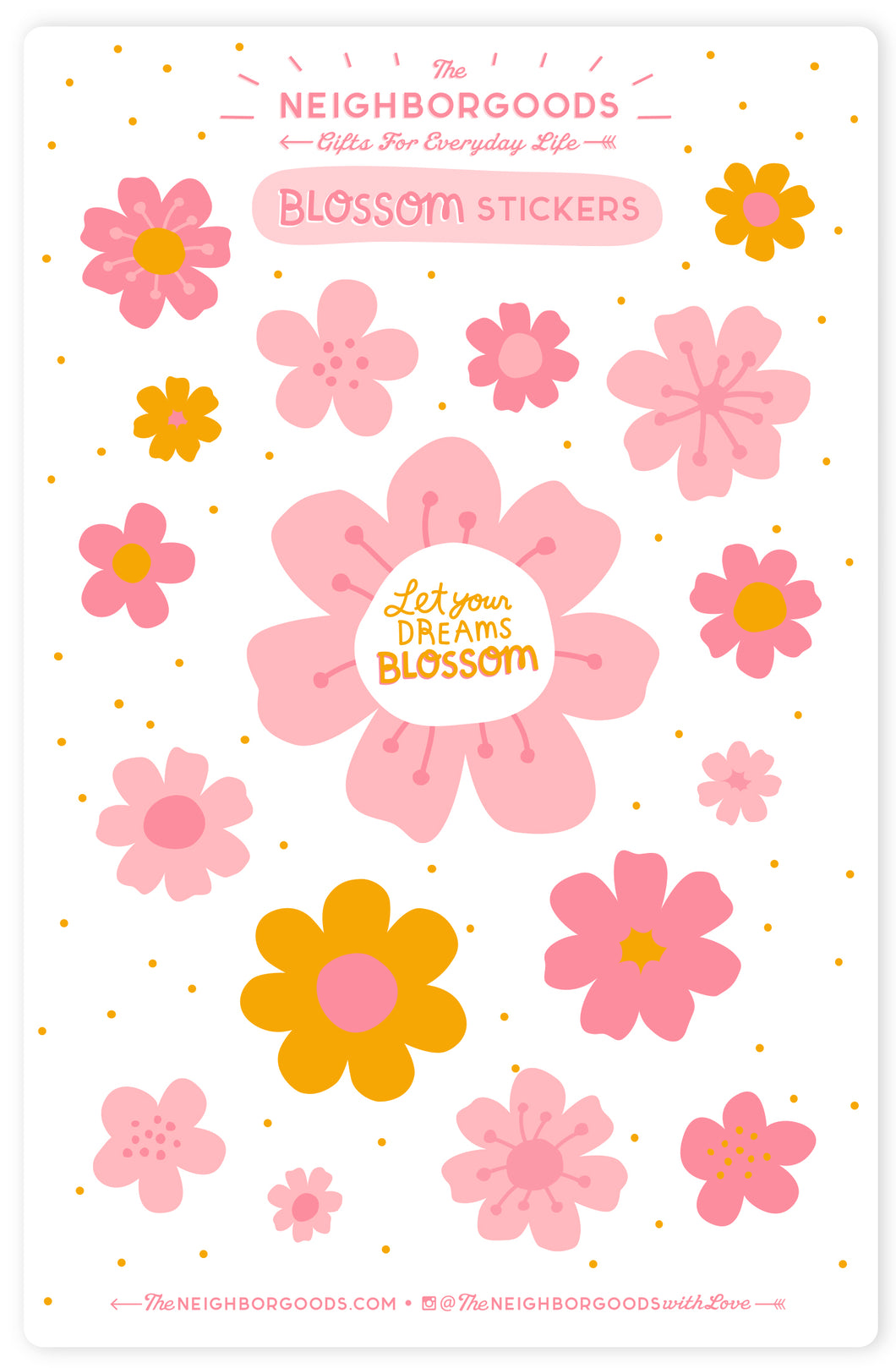 Blossom Sticker Sheet