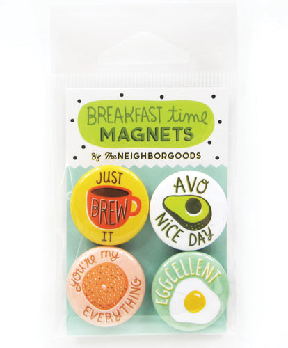 Breakfast Time Mini Magnet Set