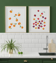 Clementines Watercolor Art Print