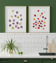 Figs Watercolor Art Print