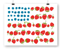 Fruit Flag Art Print