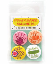Farmers Market Mini Magnet Set