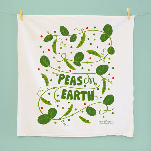 Copy of Peas on Earth DIsh Towel_Seconds