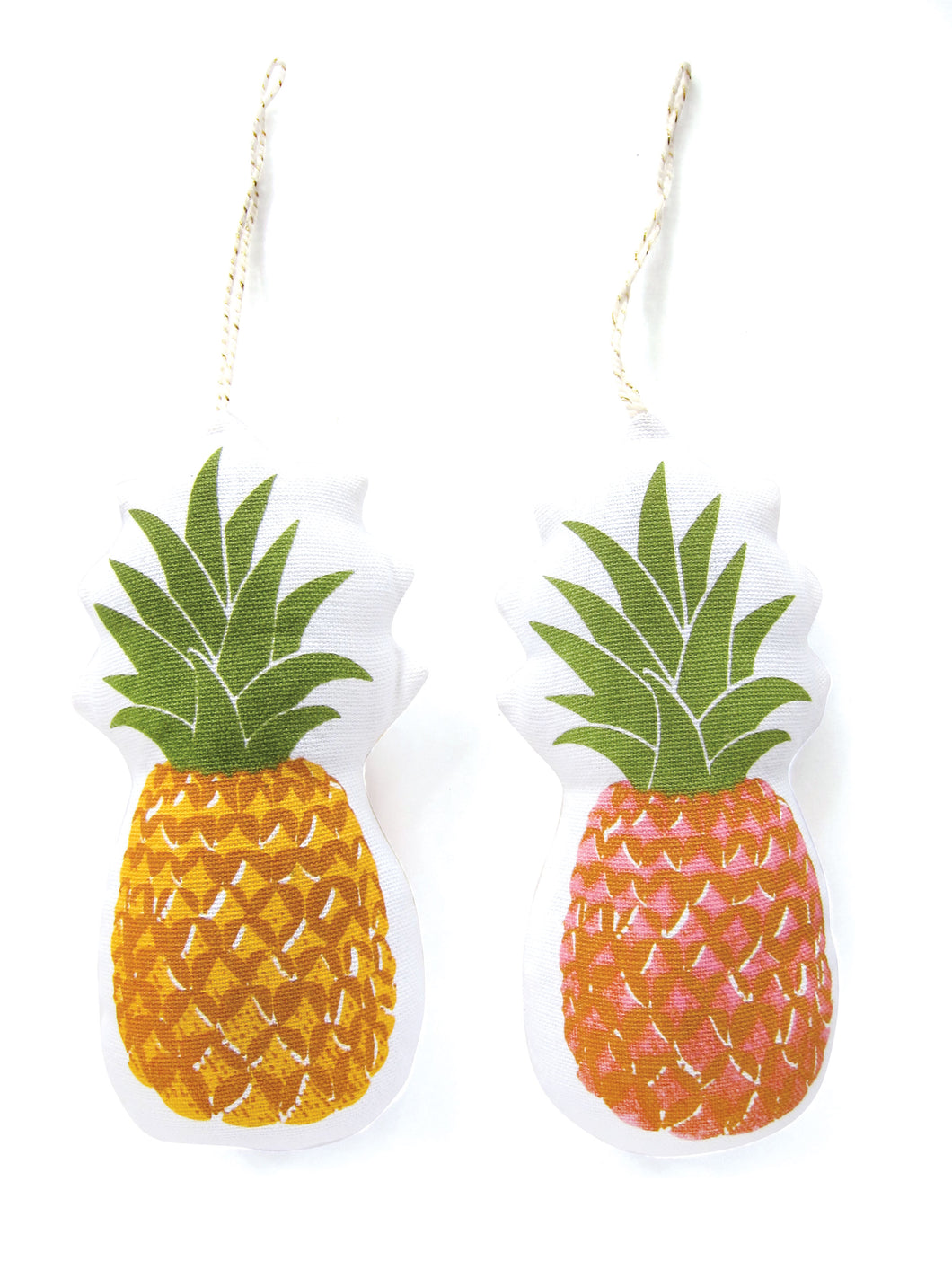 PINEAPPLE Holiday Ornament