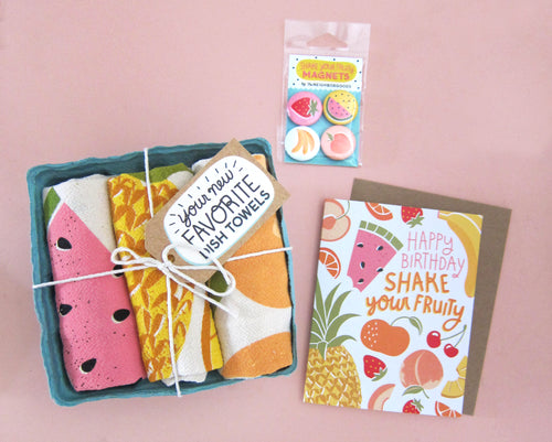 Shake Your Fruity Birthday Gift Bundle