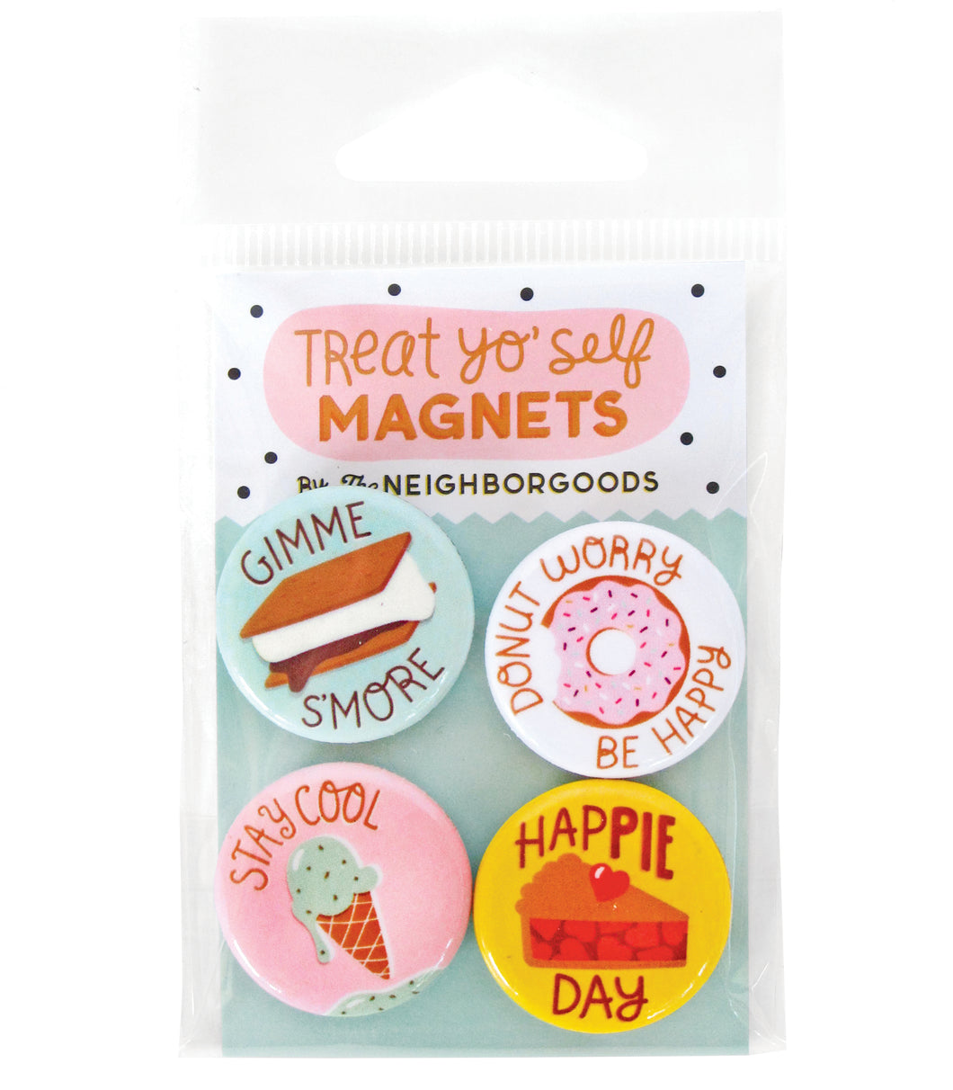 Treat Yo Self Mini Magnet Set