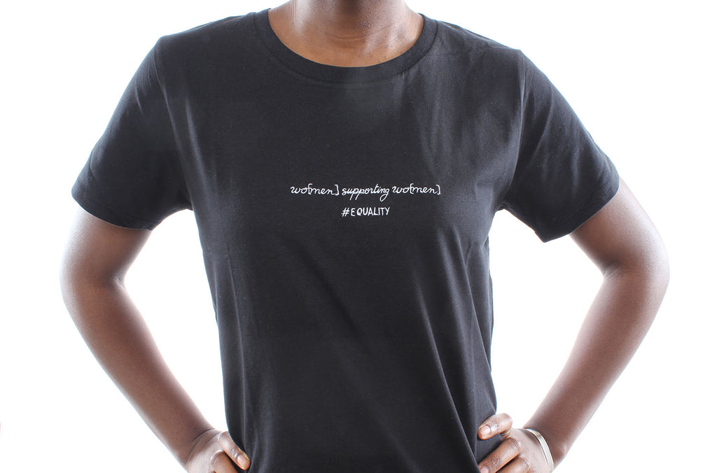 'wo[men] supporting wo[men]'™ organic cotton tee | SPECIAL EDITION
