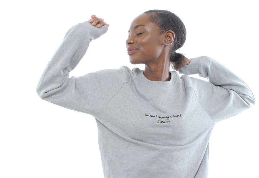 'wo[men] supporting wo[men]'™ organic cotton SWEATSHIRT | SPECIAL EDITION