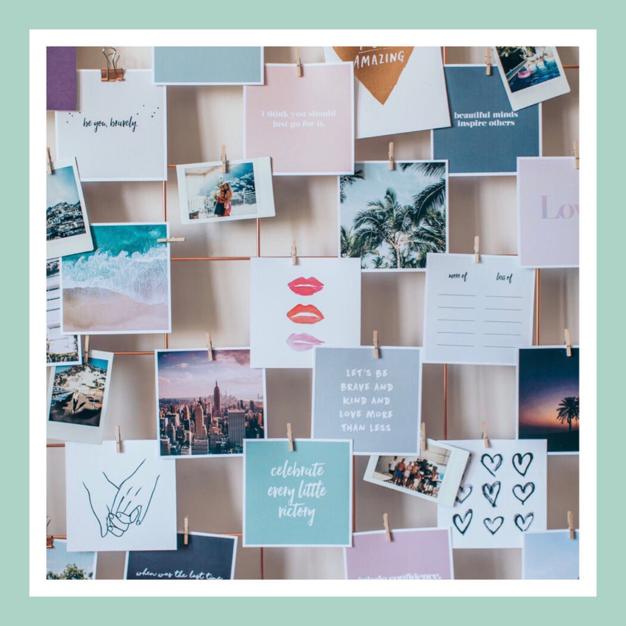 Inspired Life: Creating a Vision Board with Purpose
