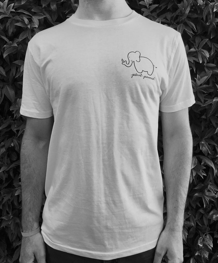'Elephant Plant-Powered' organic cotton tee