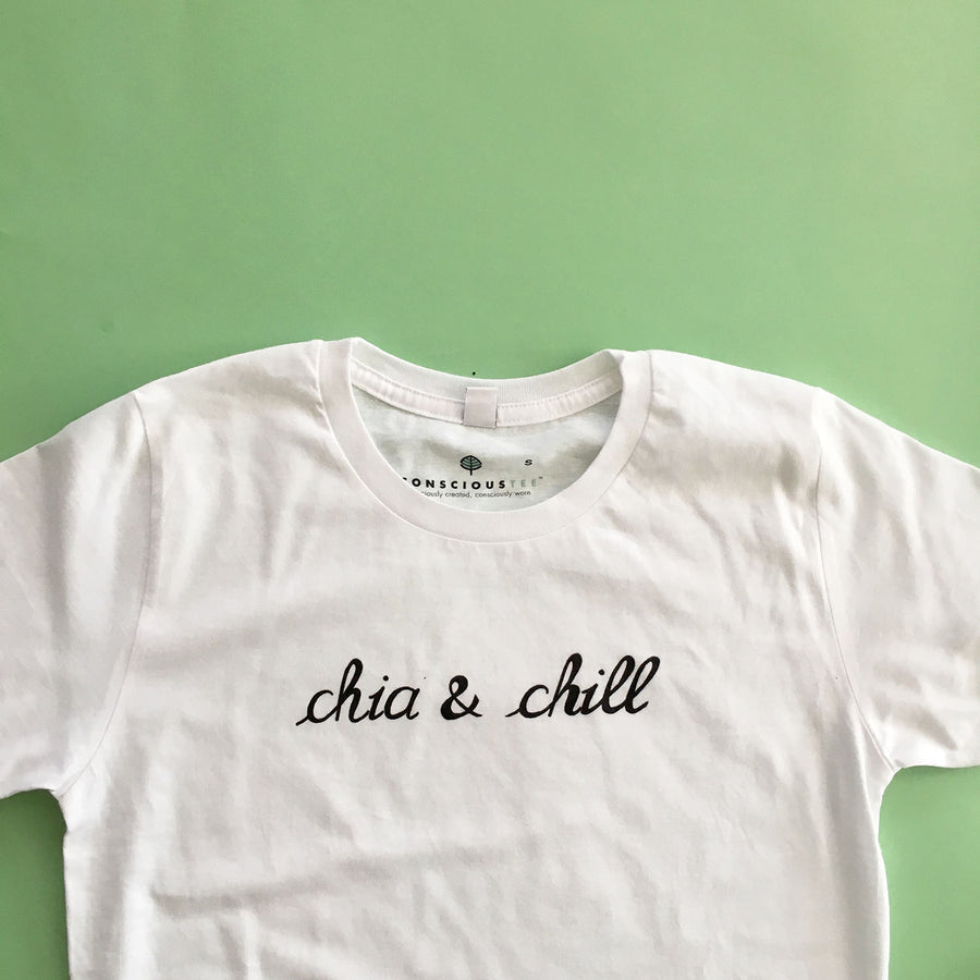 'Chia and Chill'® organic cotton tee