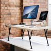 Electric Smart Standing Desk Riser - Black