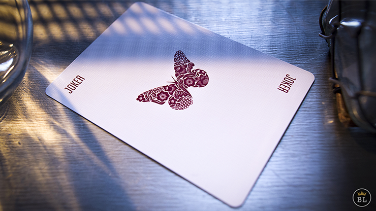 Butterfly Playing Cards (RED)