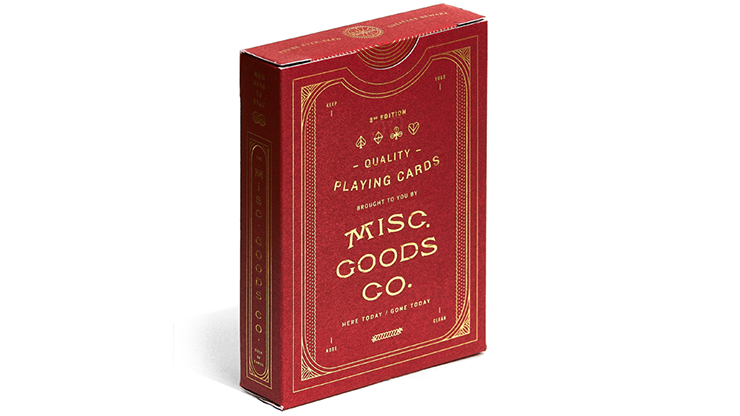 Misc. Goods Company Deck (RED)