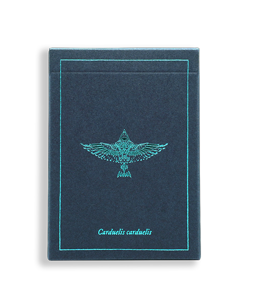 The Feather Deck: Goldfinch Edition (Teal)