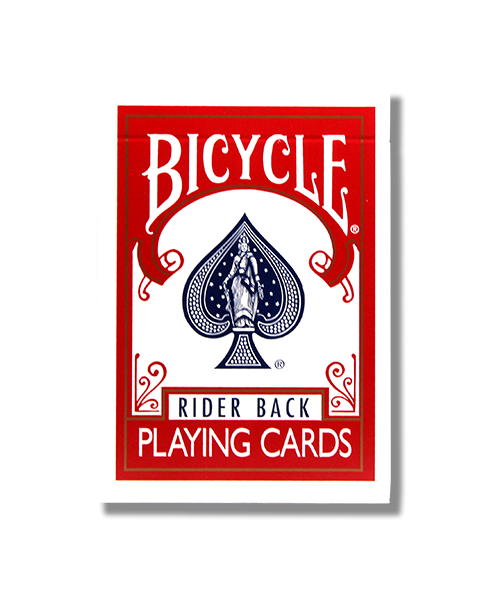 Bicycle Rider Back (Red)