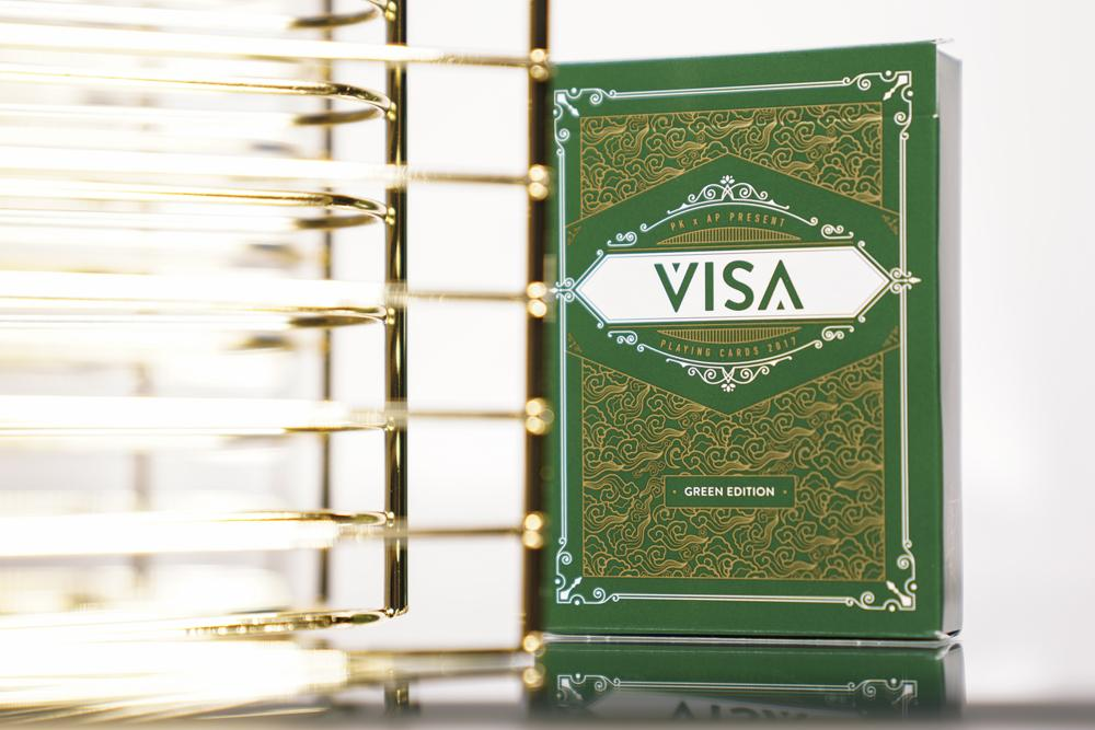 Visa Deck (GREEN) by AP x PK