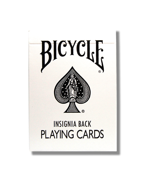 Bicycle Insignia (White)