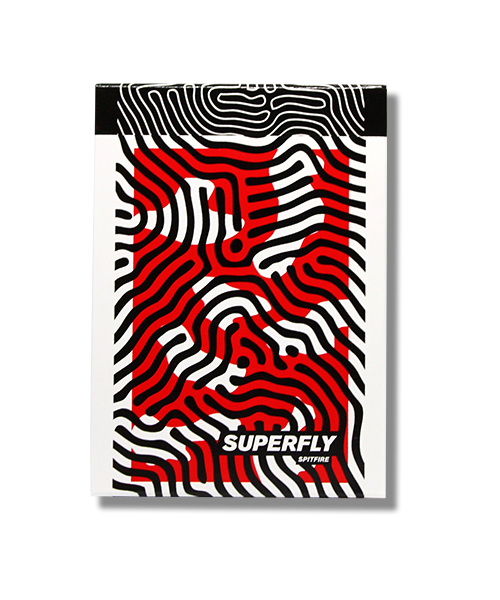 Superfly Spitfire Red