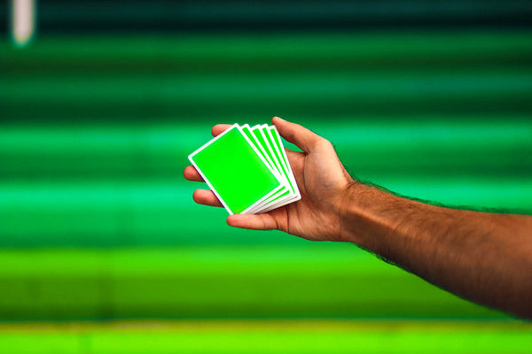 Hard NOCs | Cardistry Trainers (Sport GREEN)