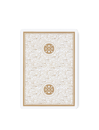 Visa Deck (WHITE/GOLD) by AP x PK