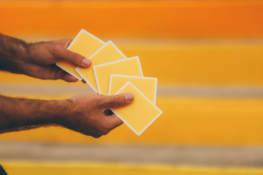 Hard NOCs | Cardistry Trainers (Summer Orange)