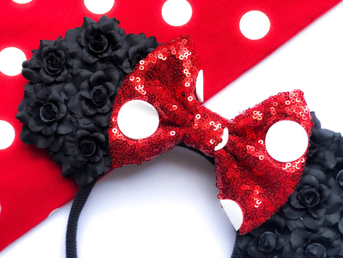 Minnie Floral Ears