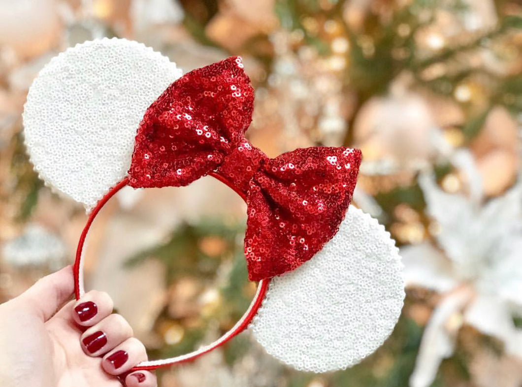 White Christmas Ears