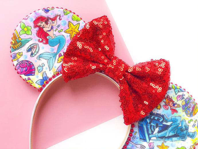 Ariel's Grotto Ears