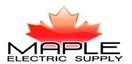 Welcome to Maple Electric Supply's New Web Site