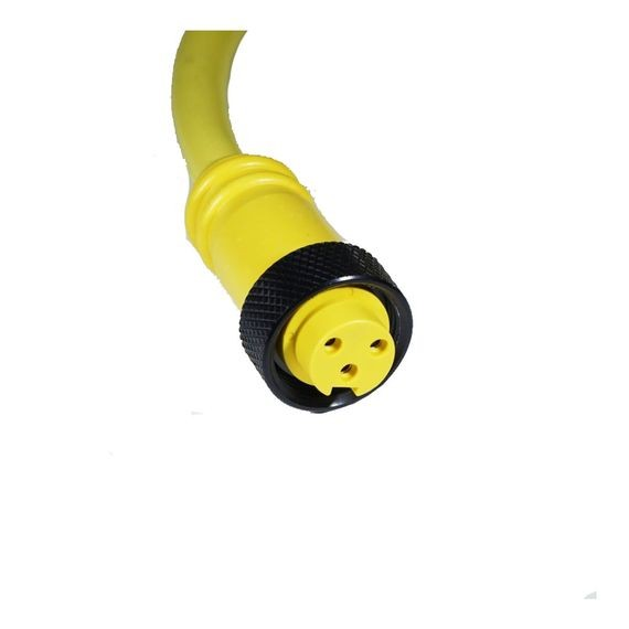 Molded connectors 2 pole 12ft    female str