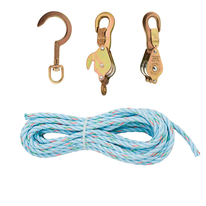 Block & Tackle with Standard Hooks