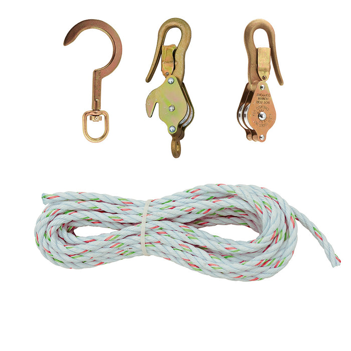 Block & Tackle with Guarded Hooks