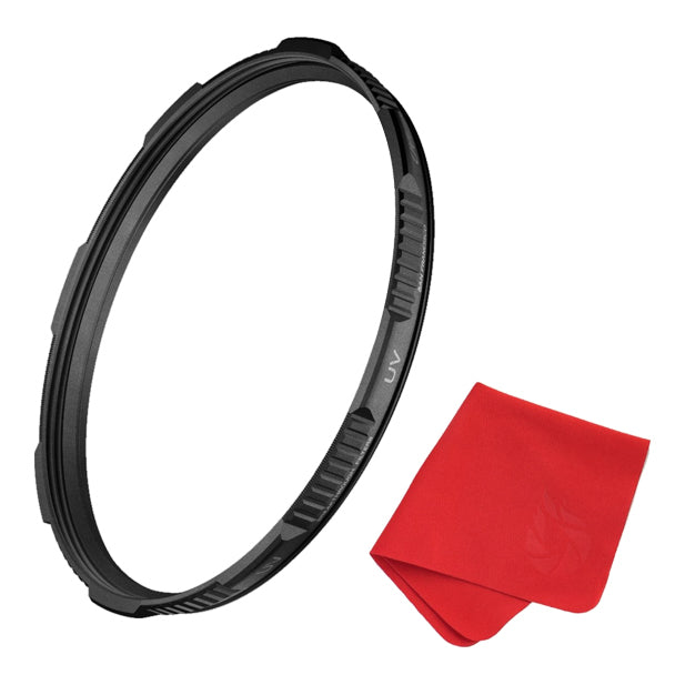 MRC16 Schott B270 95mm X4 UV Filter for Camera Lenses Ultra-Slim Nano Coatings Weather-Sealed by Breakthrough Photography UV Protection Photography Filter with Lens Cloth