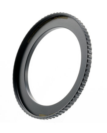 Breakthrough Photography 49mm to 82mm Step-Up Lens Adapter Ring for Filters Made of CNC Machined Brass with Matte Black Electroplated Finish