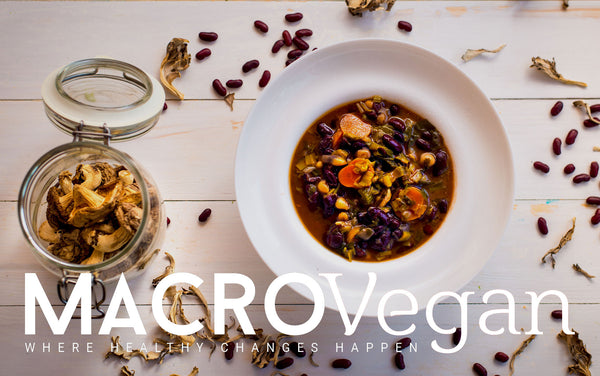 MACROVegan Soups - 44 Pages Vol. 1