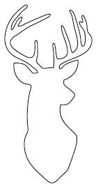 Large Deer Head (10170)