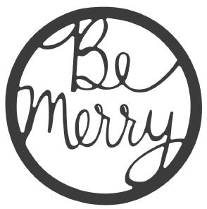 Be Merry Circle (10207)