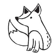 Outline Fox (1579D)