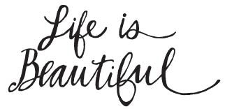 Life is Beautiful Stamp (1580G)