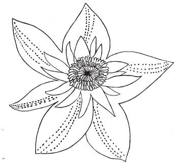 Ornate Flower (1614i)